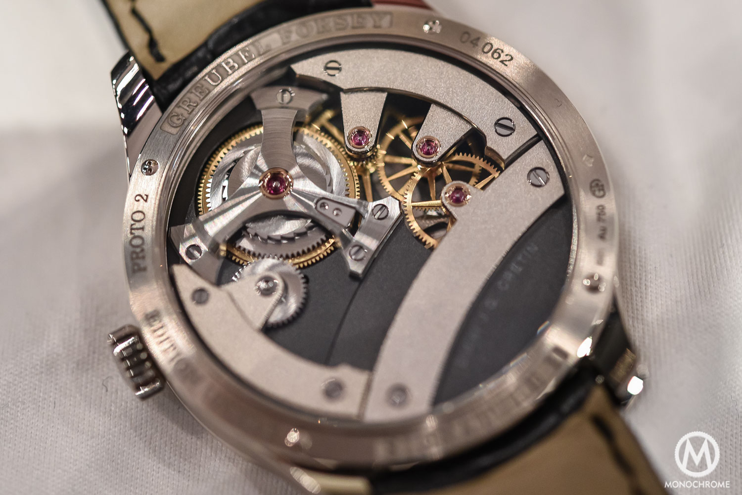 Greubel Forsey Signature 1 - Stainless steel entry level - SIHH 2016 - movement