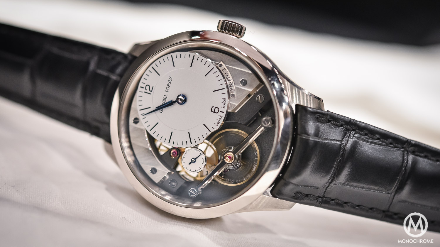 Greubel Forsey Signature 1 - Stainless steel entry level - SIHH 2016 - full case