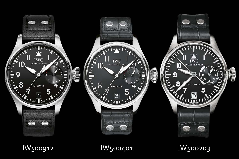 IWC Big Pilots Watch 3 generations