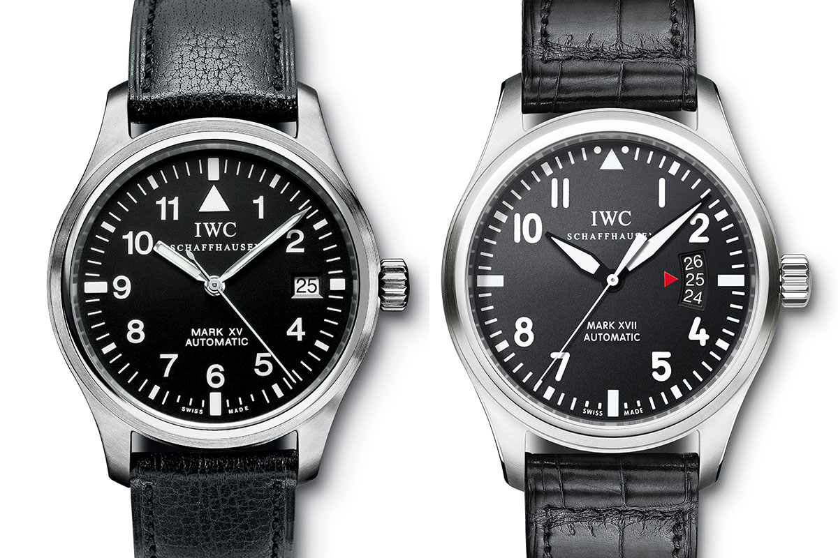 IWC mark XV and mark XVII