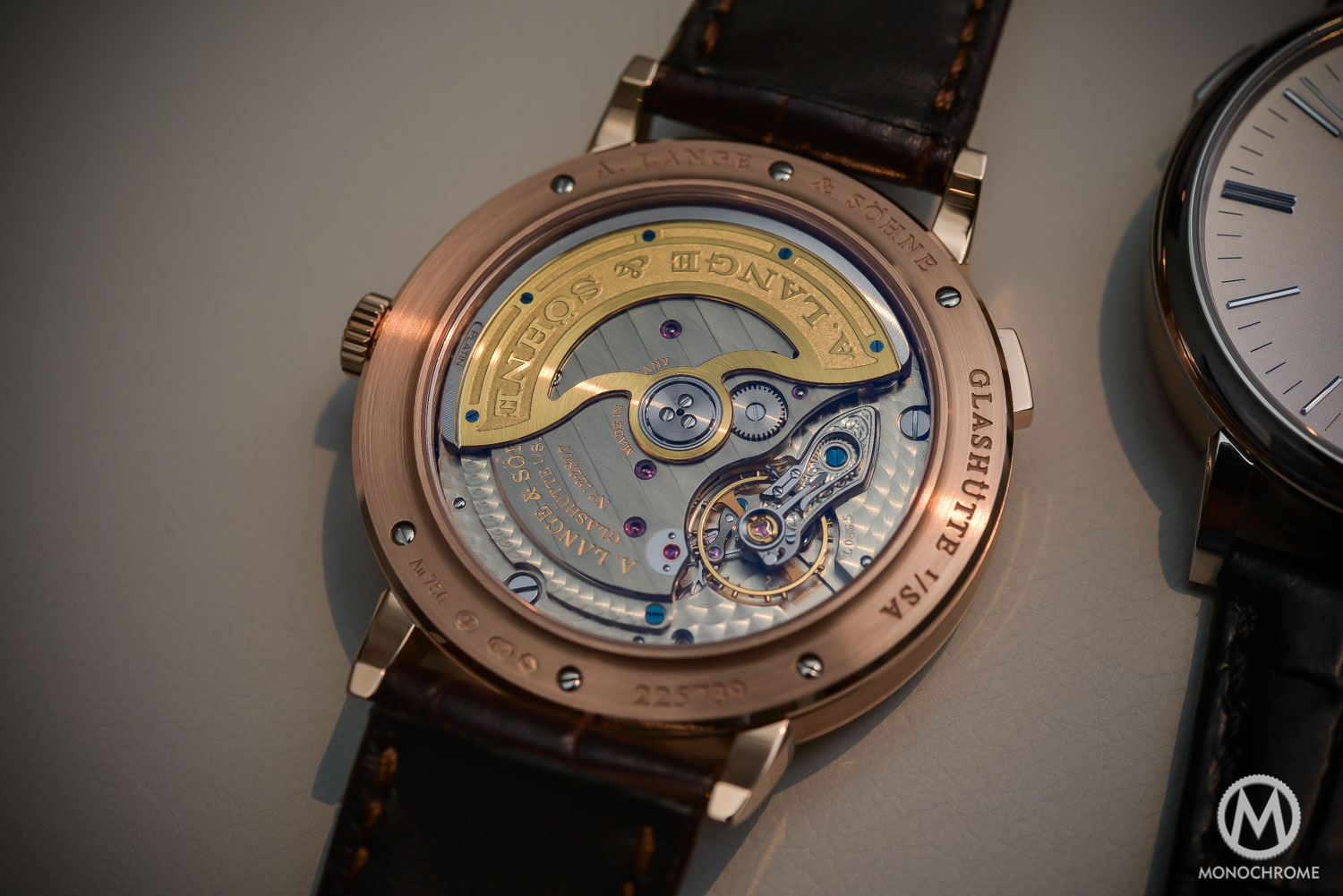 Lange Sohne Saxonia Moon Phase Automatic outisze date SIHH 2016 - _0604