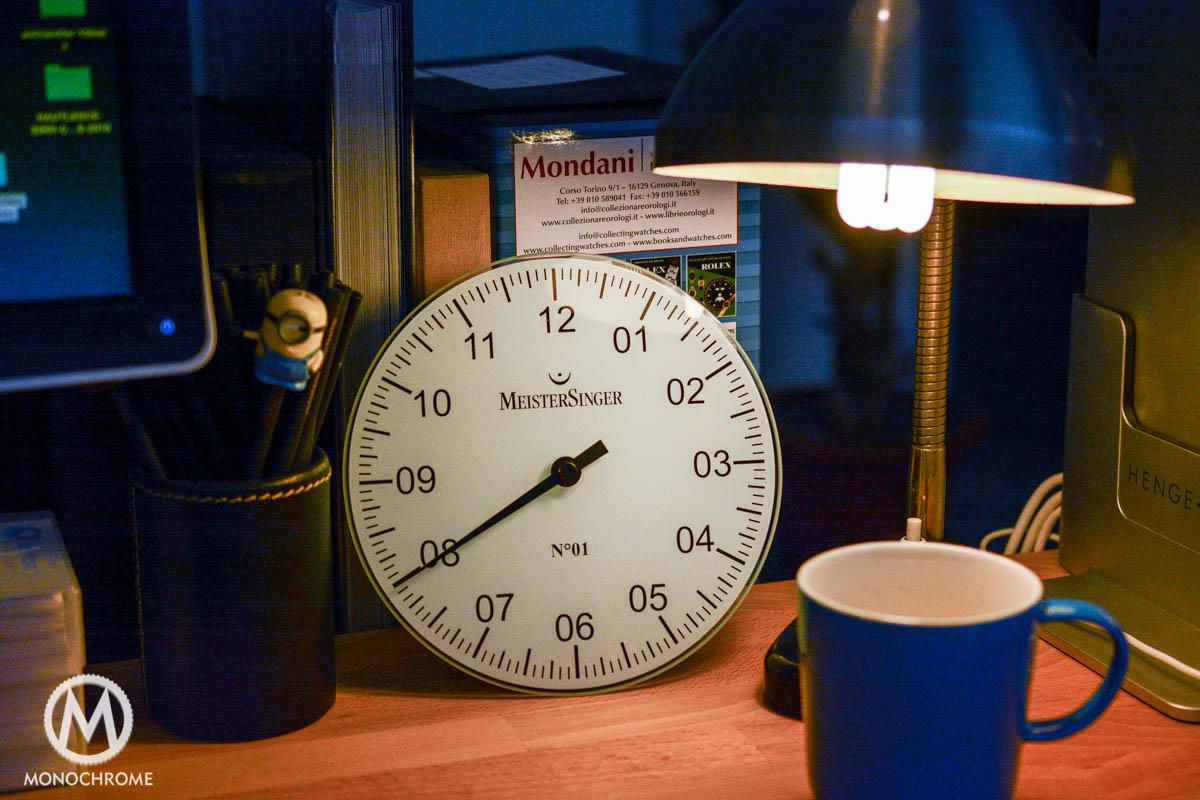 Meistersinger Clock-5605