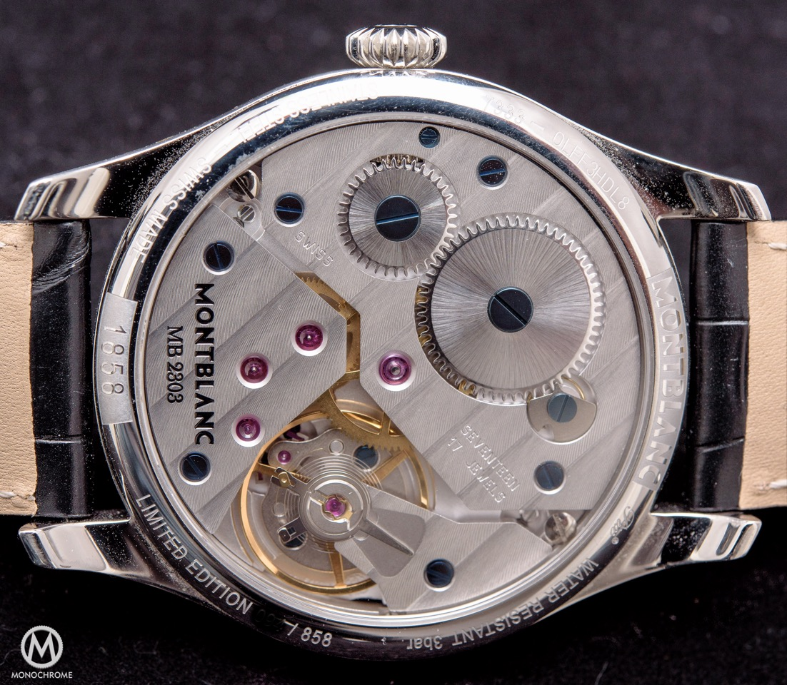 Montblanc 1858 Small Seconds - 15