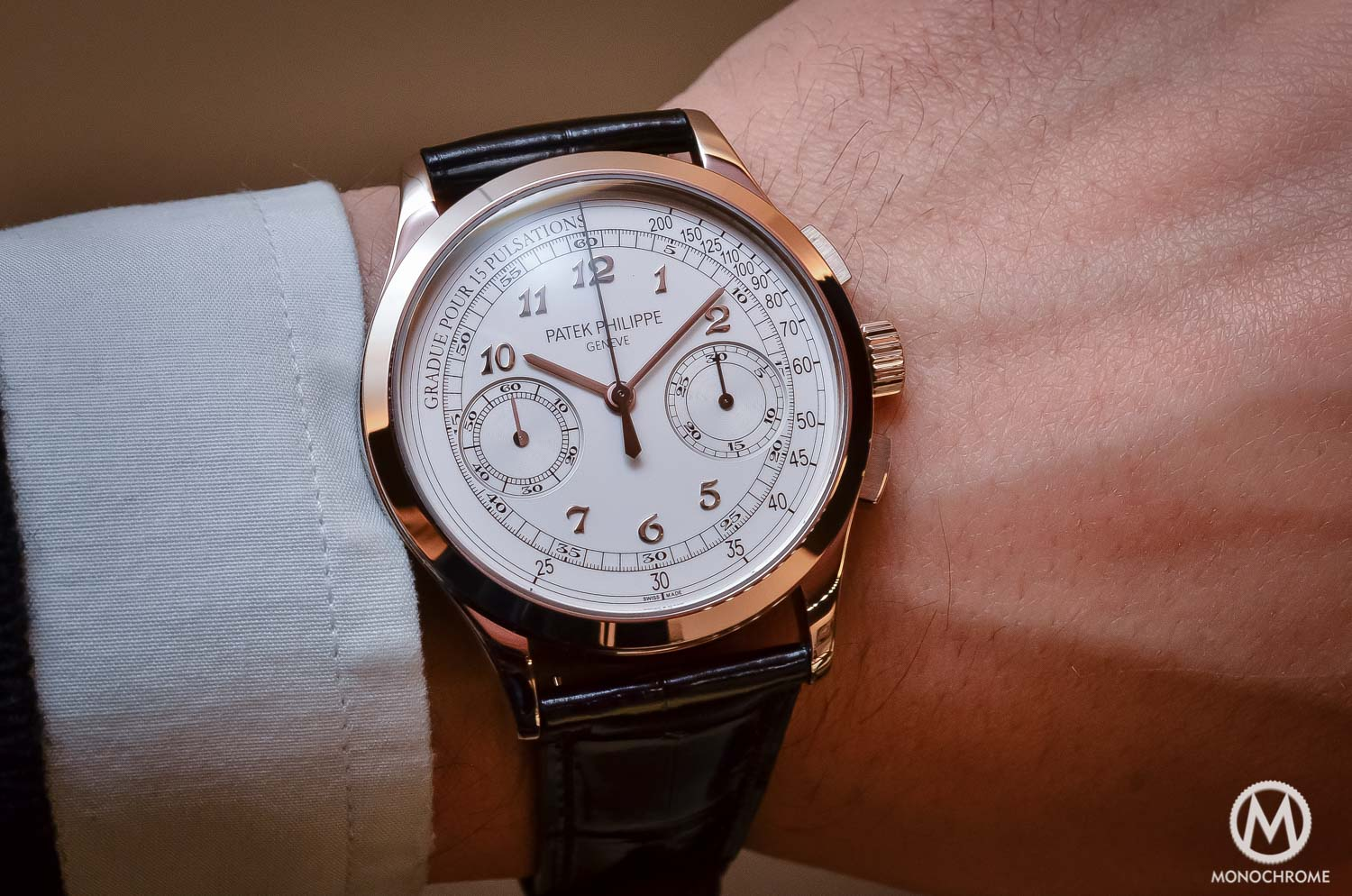Patek Philippe 5170g-001 Chronograph - review - case