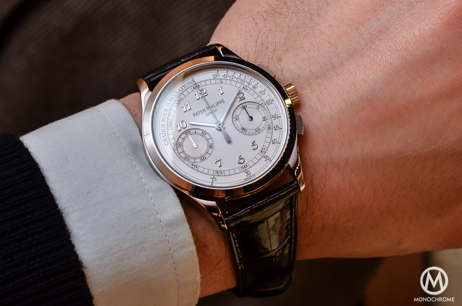 Patek Philippe 5170g-001 Chronograph - review - lifestyle