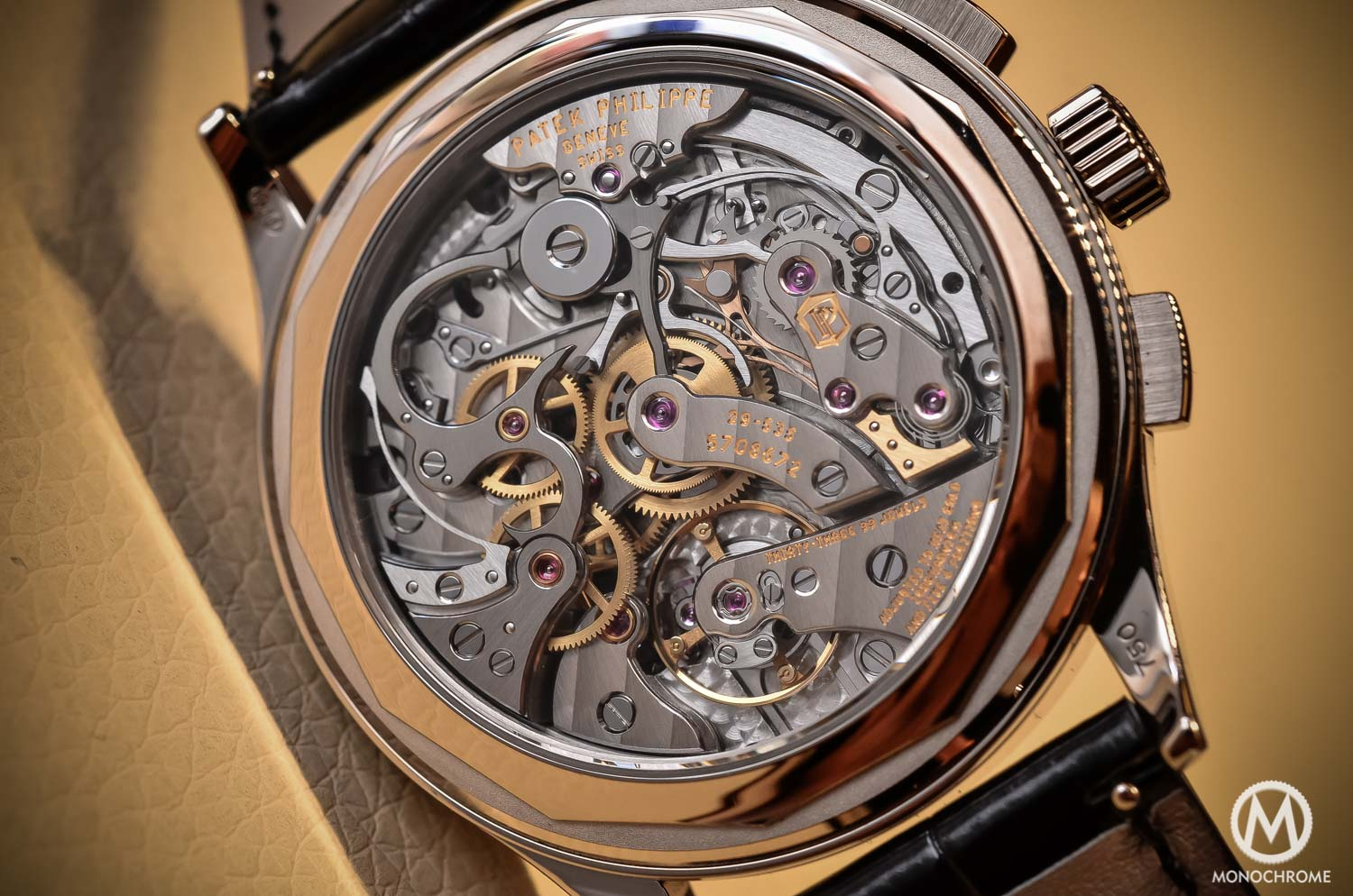 Patek Philippe 5170g-001 Chronograph - review - movement