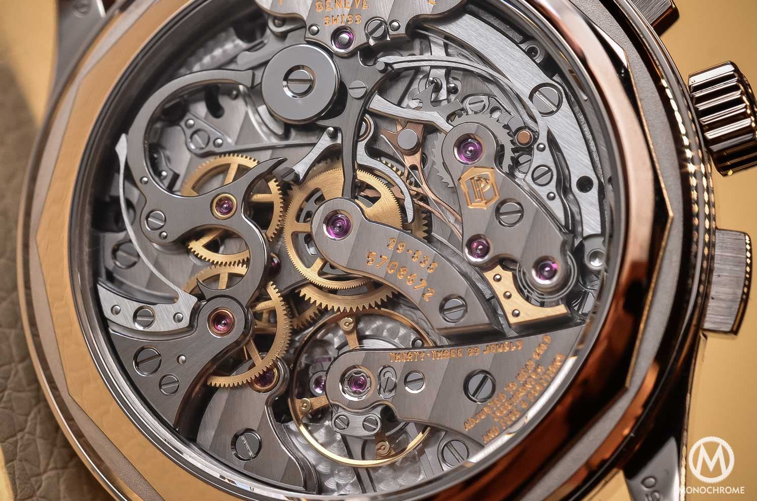 Patek Philippe 5170g-010 Chronograph - review - movement