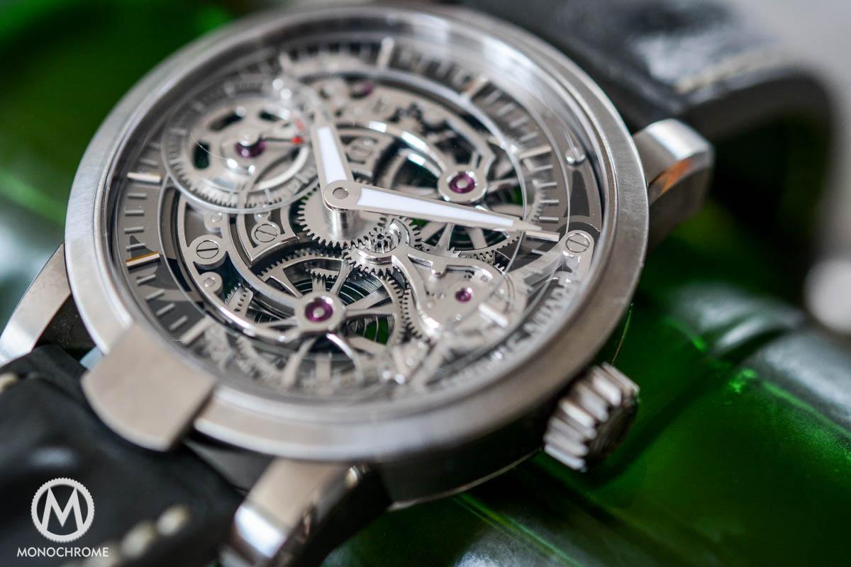 Armin Strom Skeleton Pure Air Titanium - Review