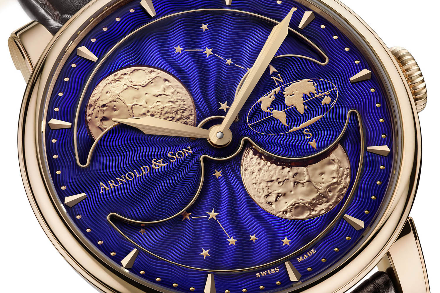 Arnold & Son HM Double Hemisphere Perpetual Moon - 2