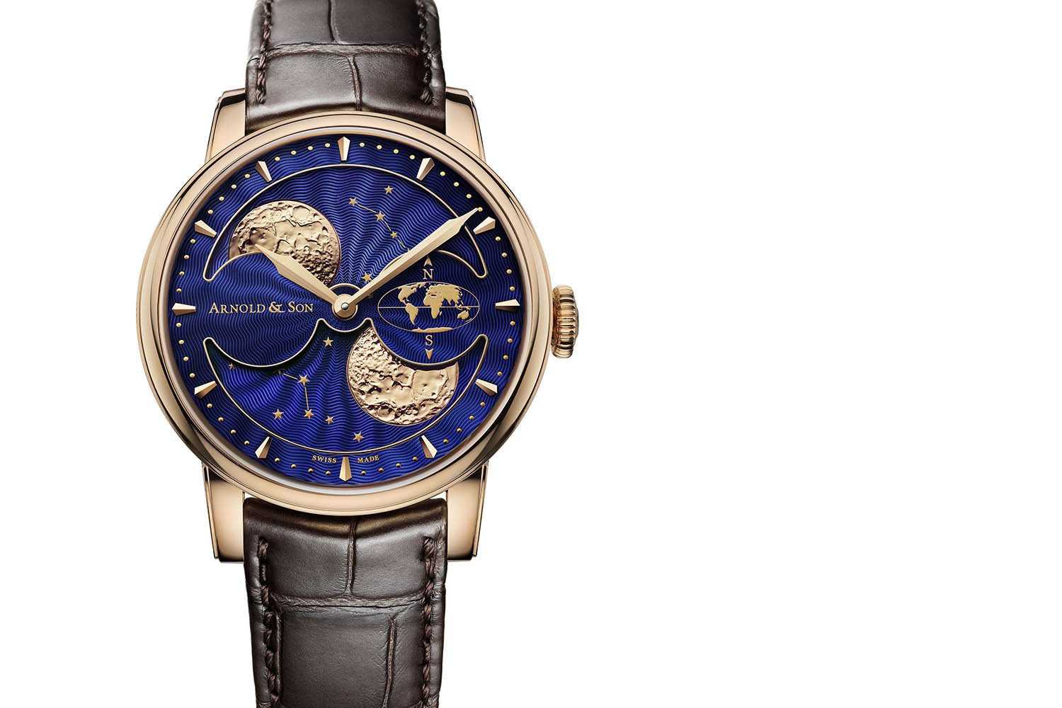 Arnold & Son HM Double Hemisphere Perpetual Moon - 4