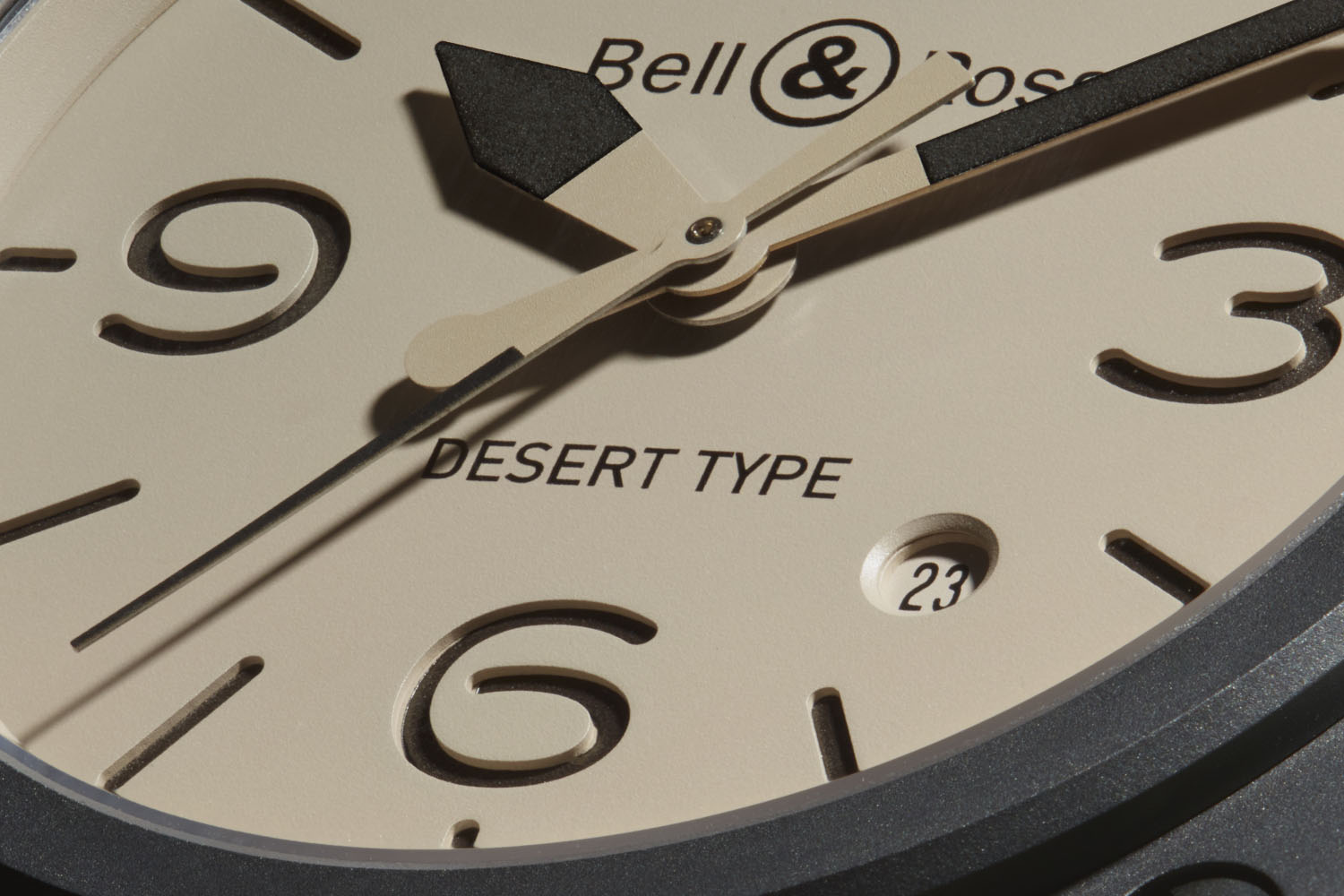 Bell & Ross BR03 92 Desert Type Ceramic Sandwich dial Military - Pre-Baselworld 2016