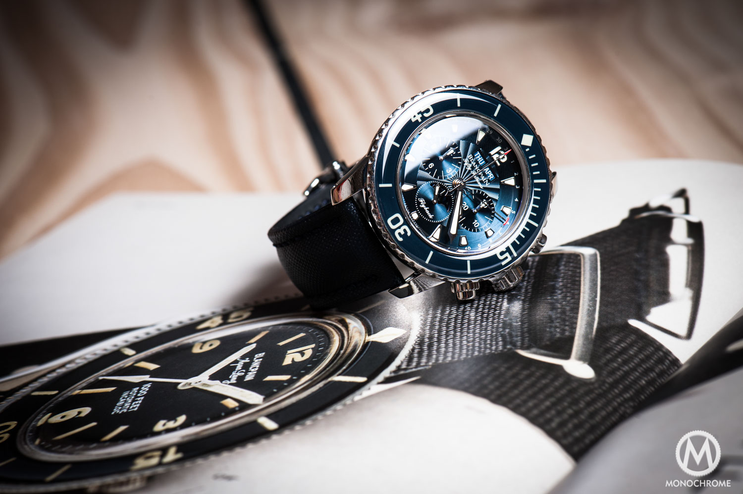 Blancpain Fifty Fathoms Chronographe Flyback Quantieme Complet