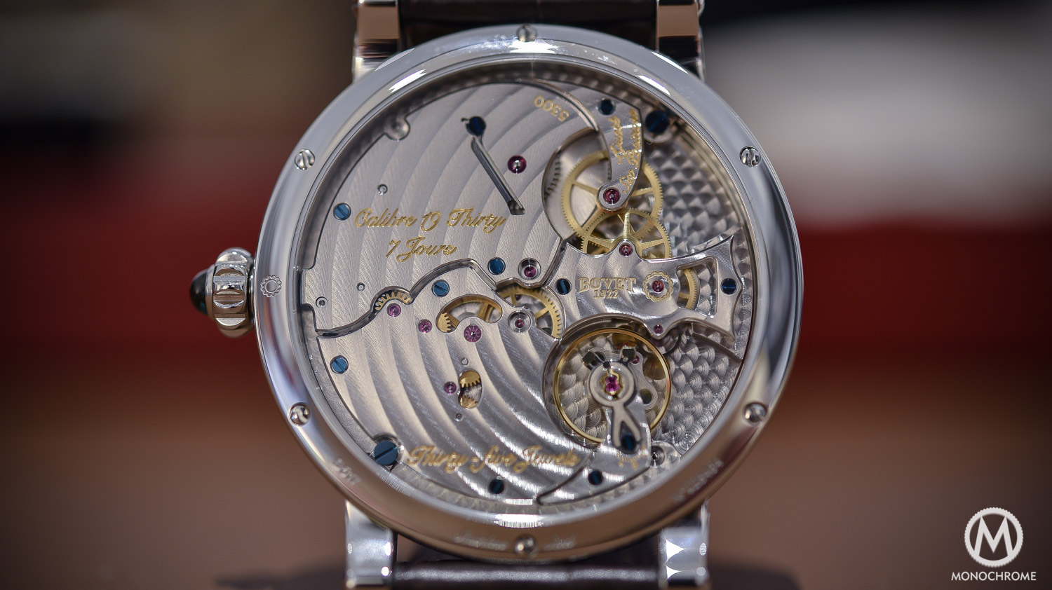 Bovet 19Thirty Dimier blue dial chinese numerals - 11