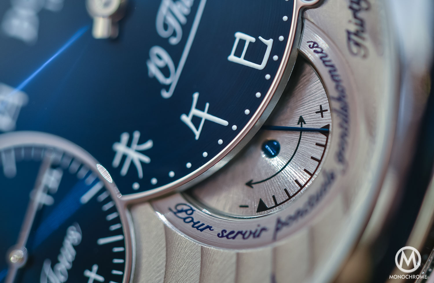 Bovet 19Thirty Dimier blue dial chinese numerals - 8
