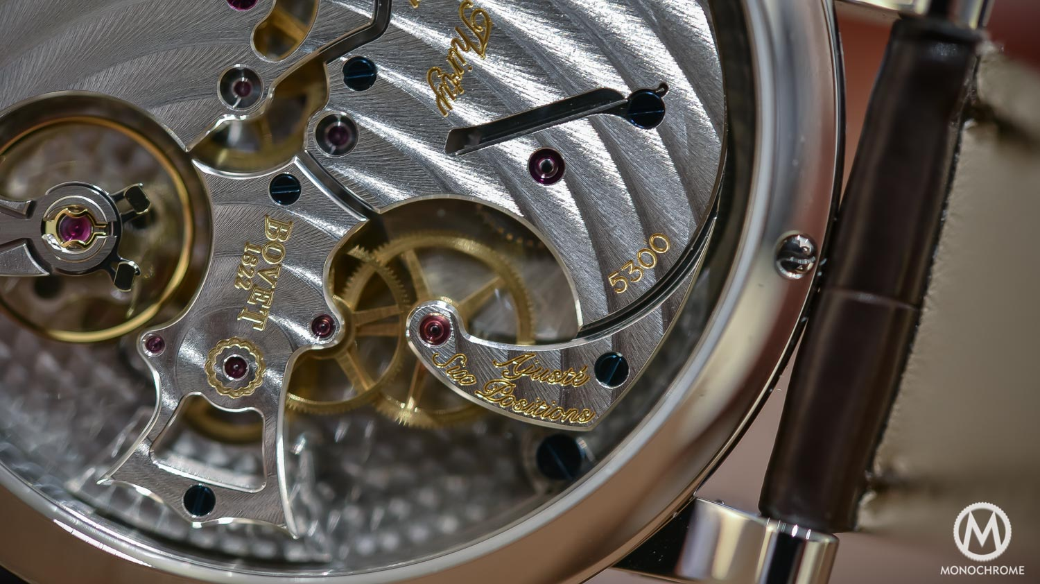 Bovet 19Thirty Dimier blue dial chinese numerals - 9