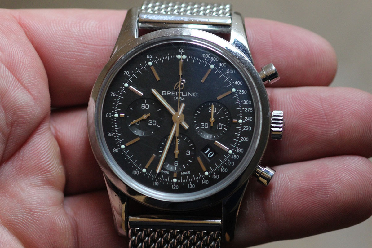 Breitling Transocean Chronograph B01 - Collectors Series - 4