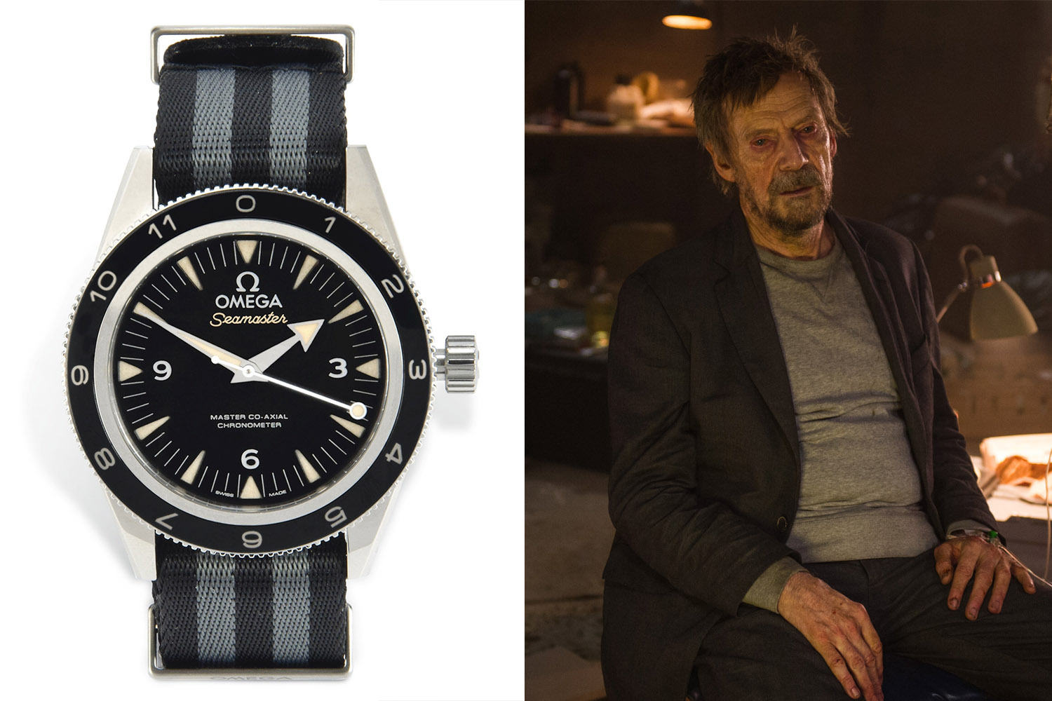 Christie's James Bond Spectre Auction - Omega Seamaster 300 Spectre - donated by Mr White Jesper Christensen