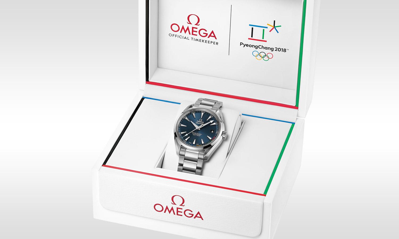 Omega Seamaster Aqua Terra Pyeongchang 2018 Limited Edition