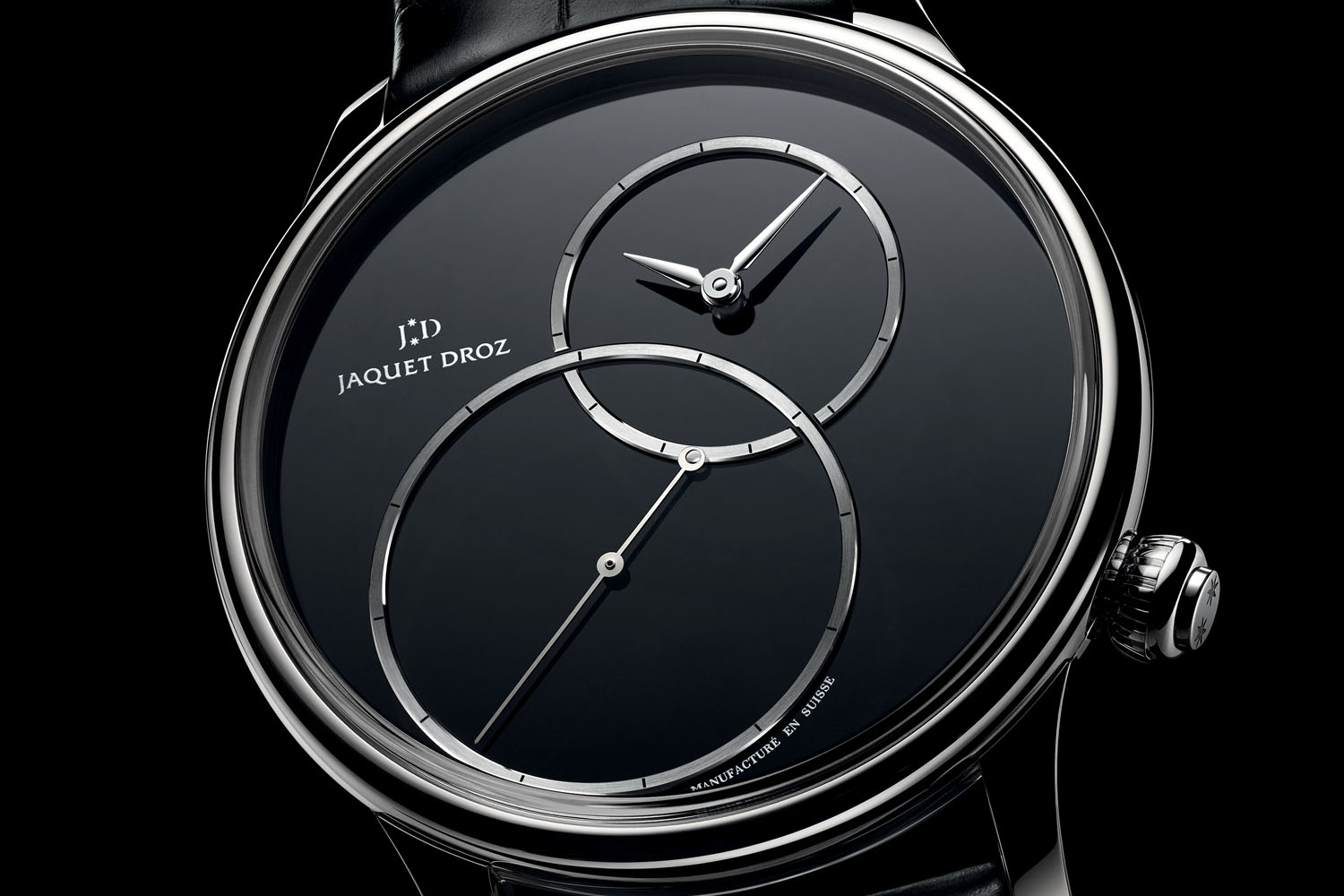 Jaquet Droz Grande Seconde Off-Centered Onyx Dial
