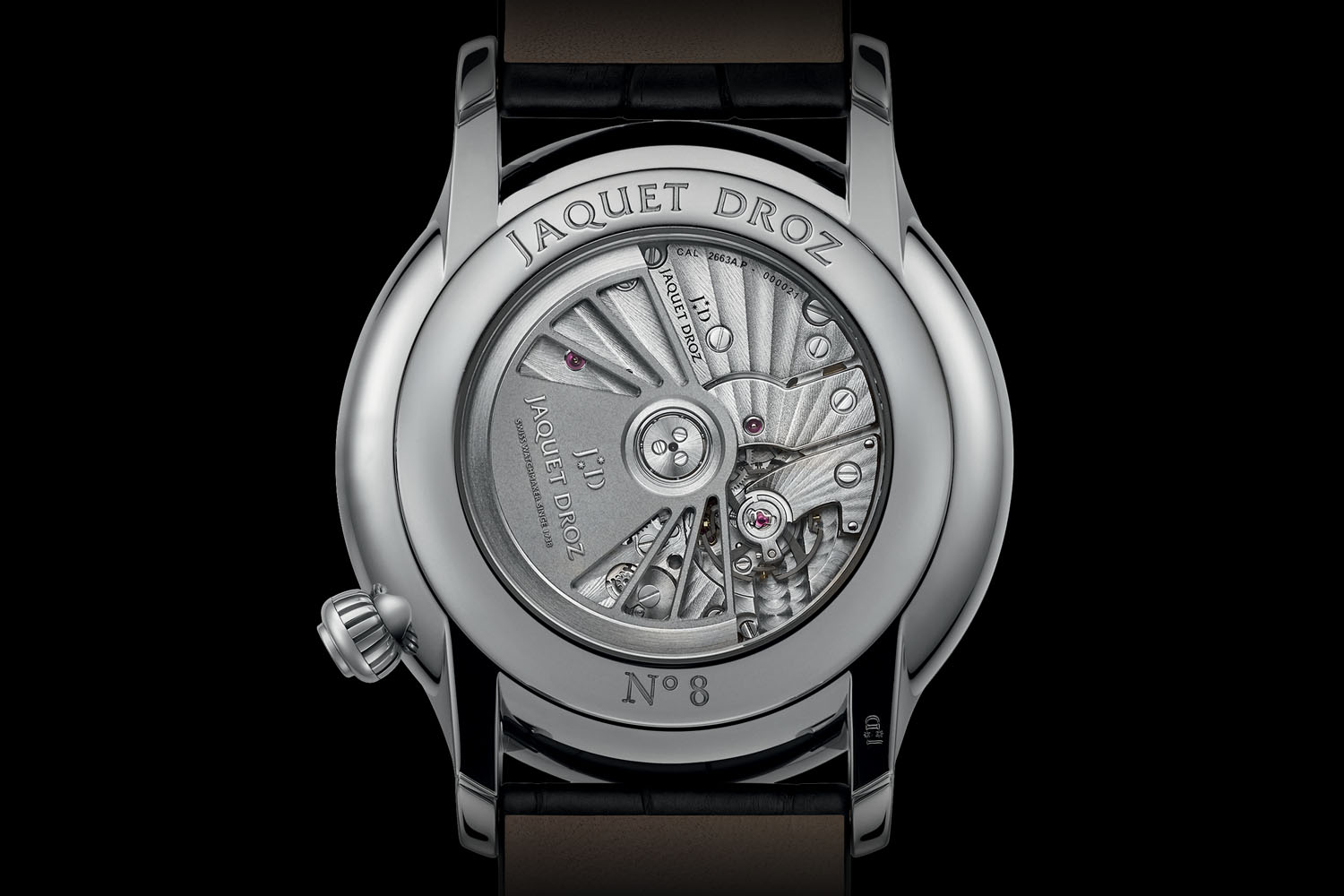Jaquet Droz Grande Seconde Off-Centered Onyx Dial - Calibre 2663A
