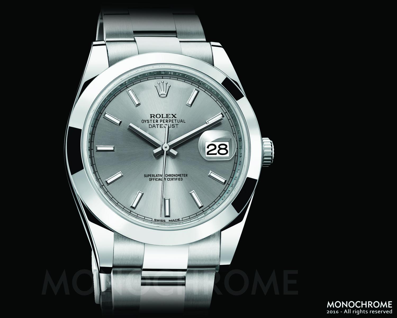 Rolex DateJust 40 Stainless steel flat bezel - Rolex Baselworld 2016 - Rolex Predictions 2016 - Monochrome