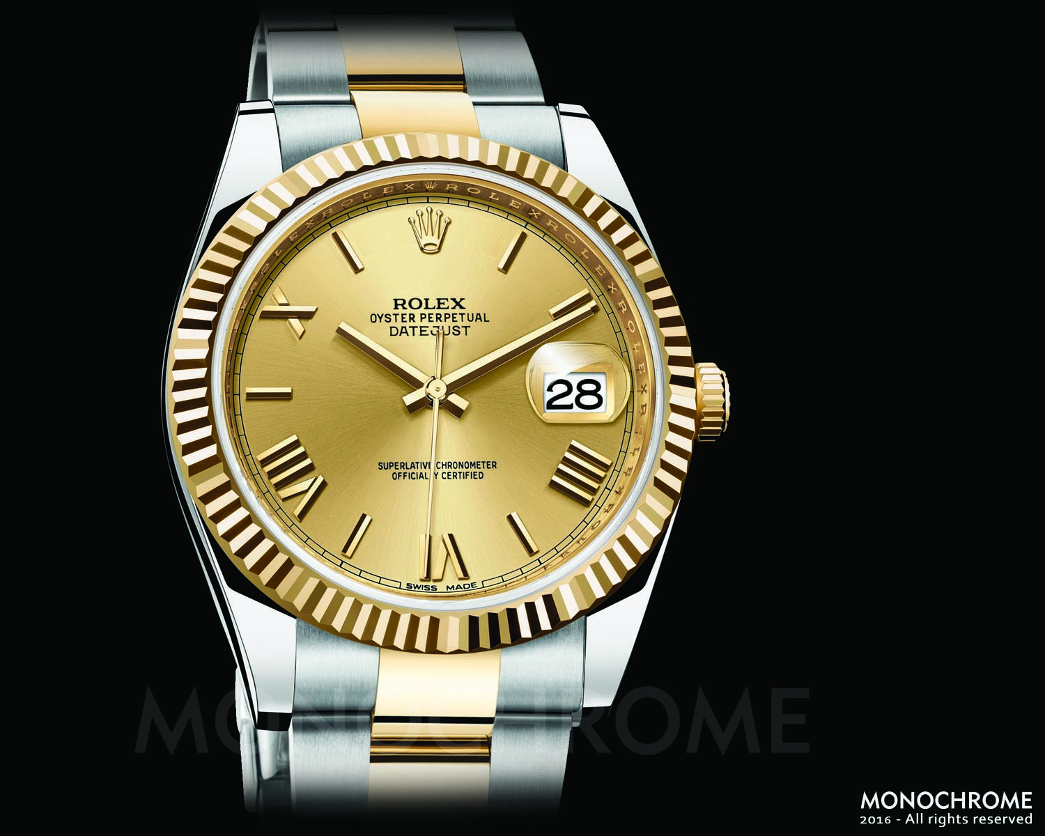 Rolex DateJust 40 Two Tone - Rolex Baselworld 2016 - Rolex Predictions 2016 - Monochrome