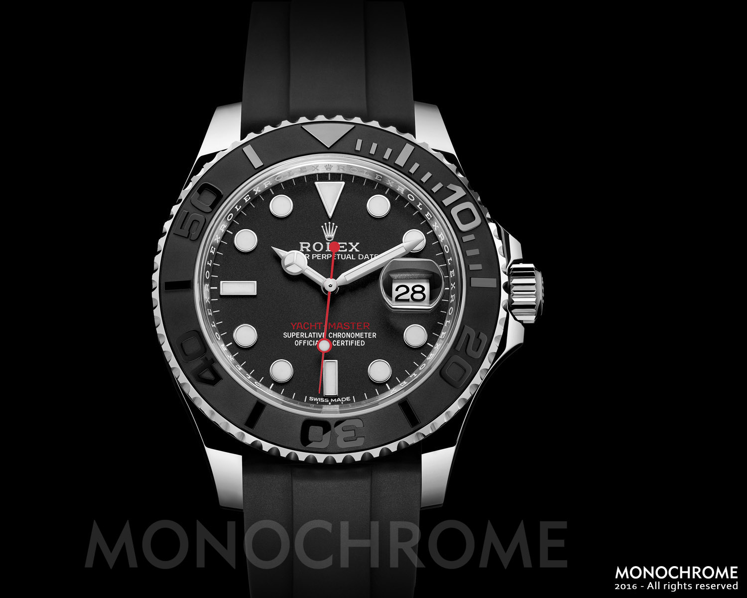 Rolex Yacht-Master 40 stainless steel ceramic rubber - Rolex Baselworld 2016 - Rolex Predictions 2016 - Monochrome