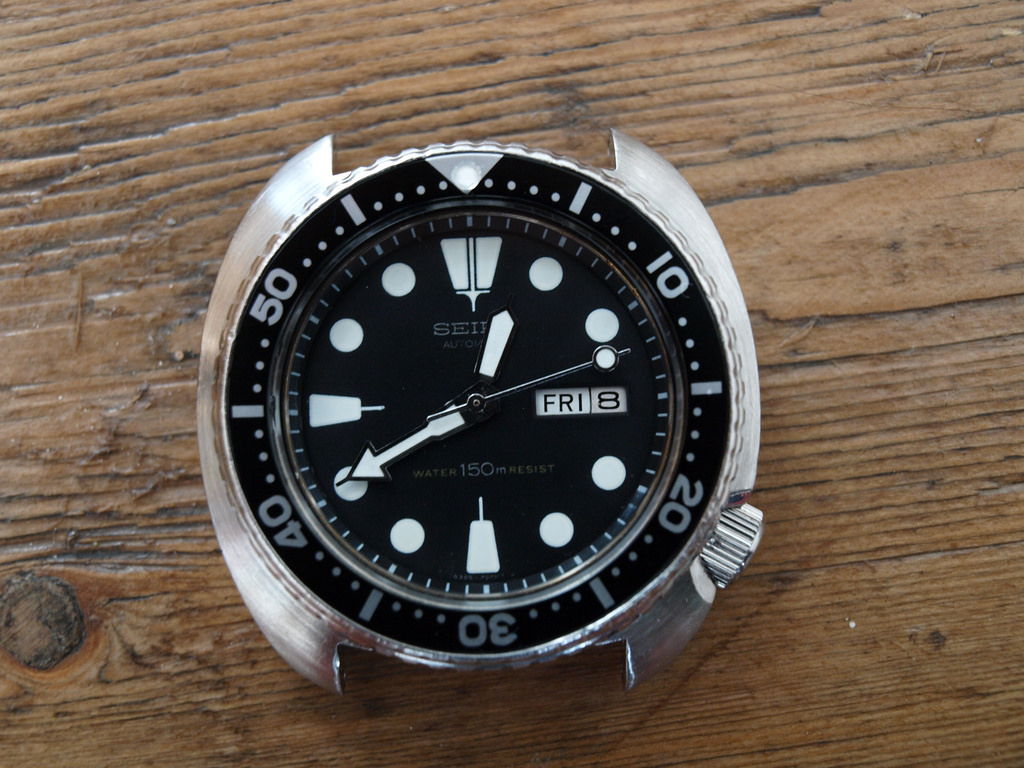 "A vintage Seiko 6309 ""Turtle"" – source: watchuseek"