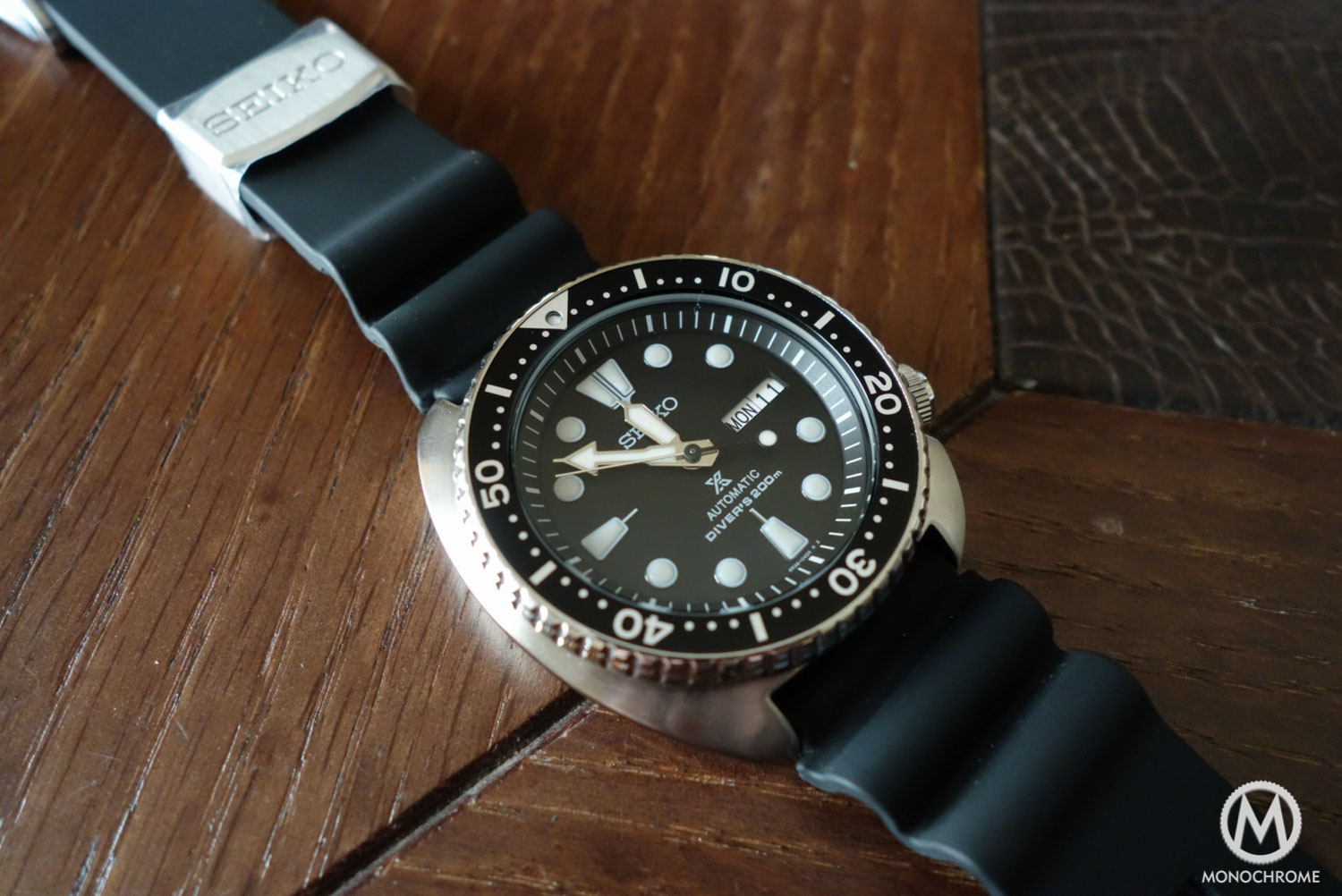 Seiko Prospex SRP777 - review - on rubber silicon
