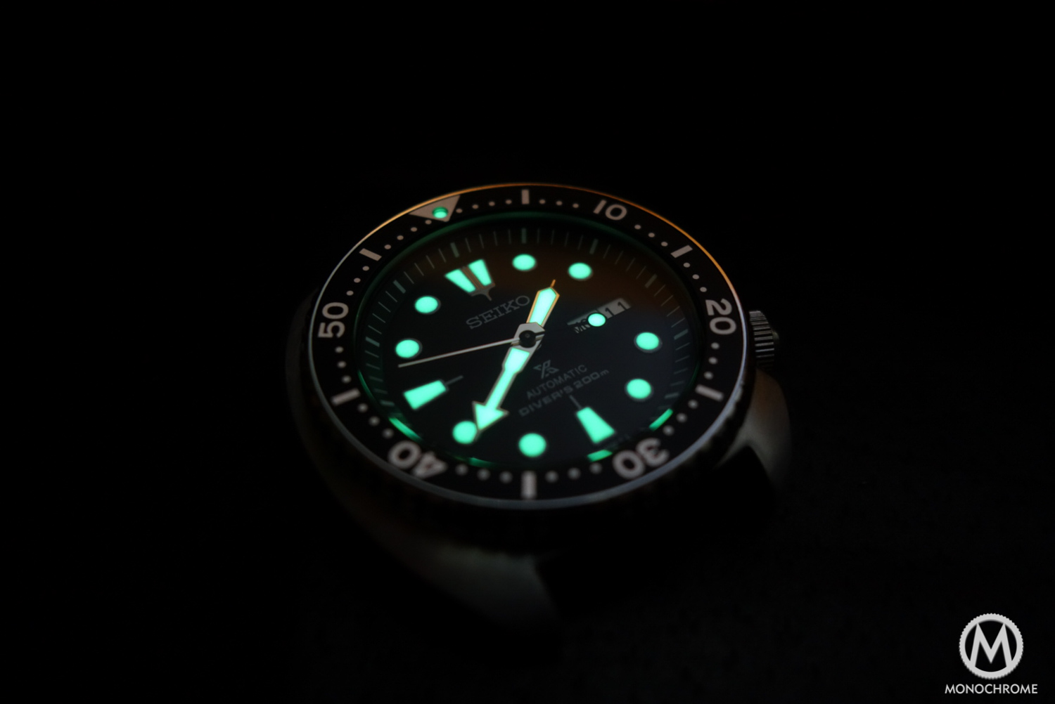 Seiko Prospex SRP777 - review - lame dial hands