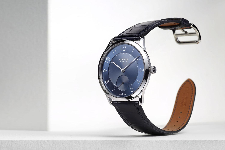 Slim d'Hermes - blue dial 2016 - 1