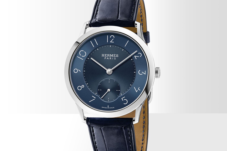 Slim d'Hermes - blue dial 2016 - 2