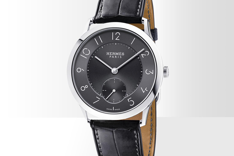 Slim d'Hermes - slate grey dial 2016 - 2