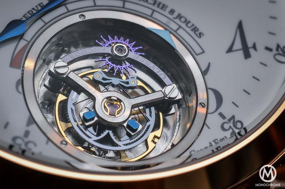 Ulysse Nardin Anchor Tourbillon - Anchor Escapement