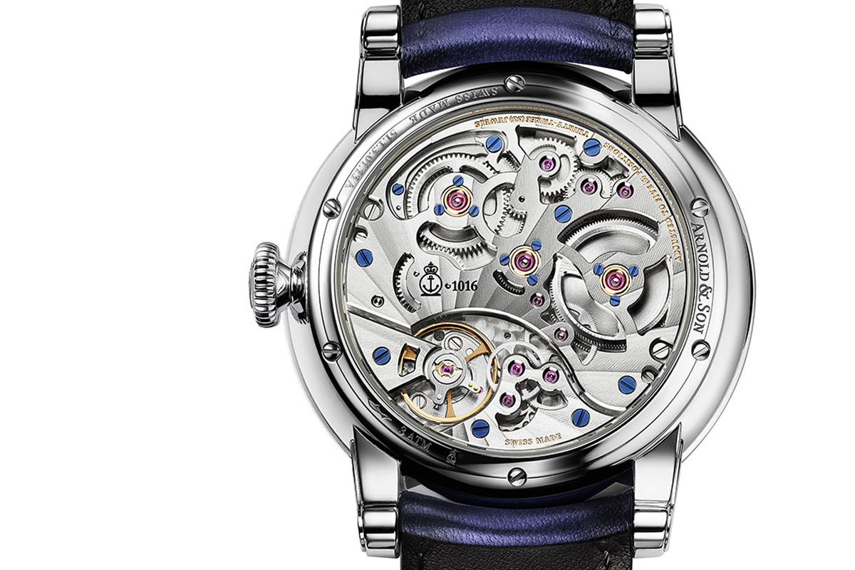 Arnold and Son Eight-Day Royal Navy - movement