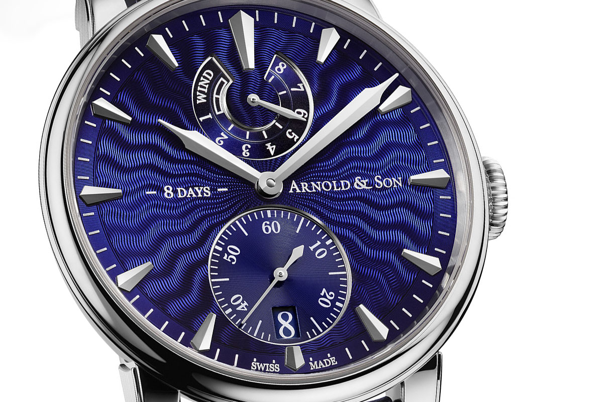 Arnold and Son Eight-Day Royal Navy - Blue dial