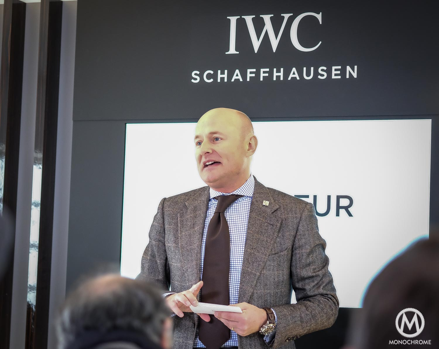 Georges Kern - IWC CEO - Goodwood - 1