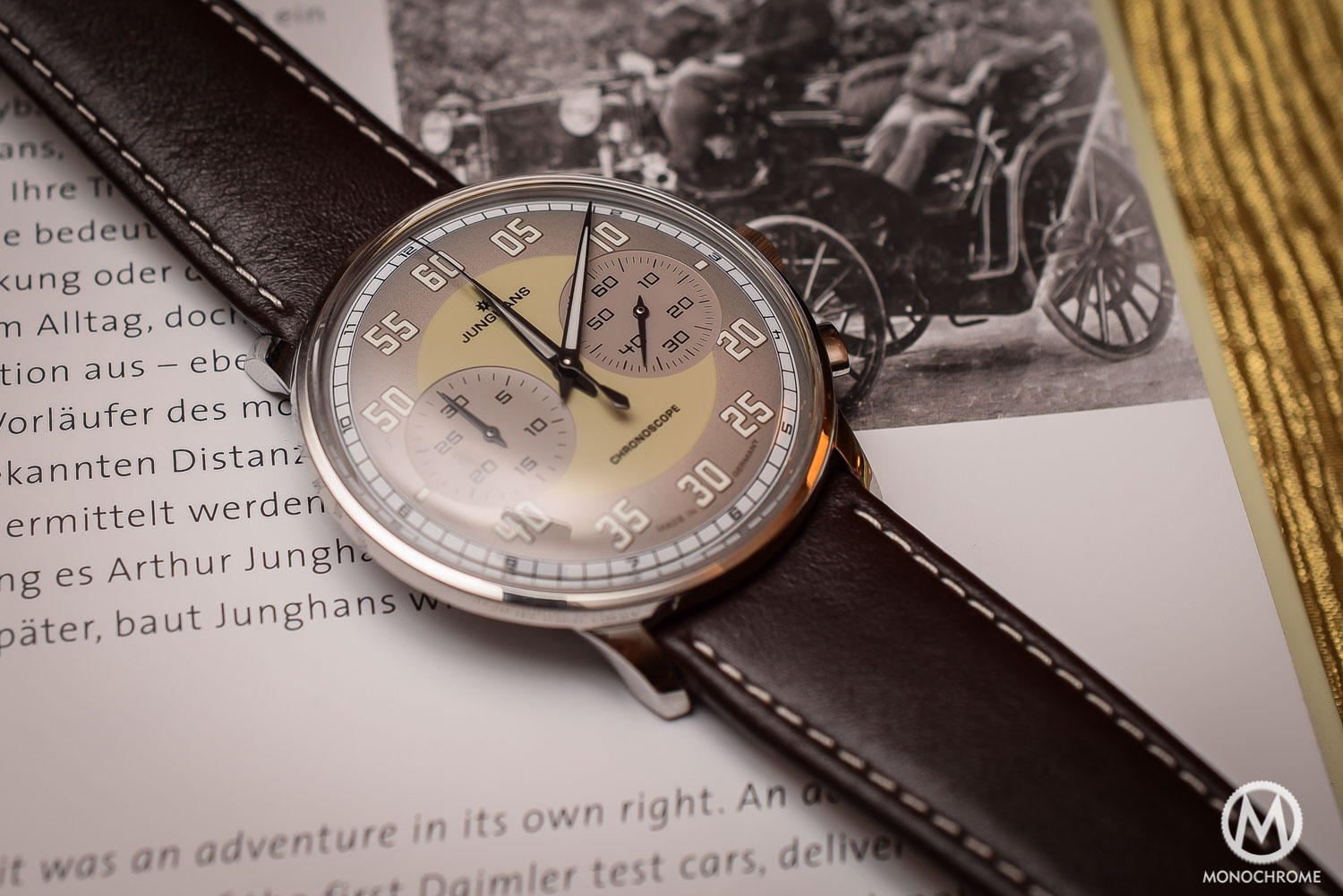 Junghans Meister Driver Chronoscope - Top 5 Watches from Baselworld 2016