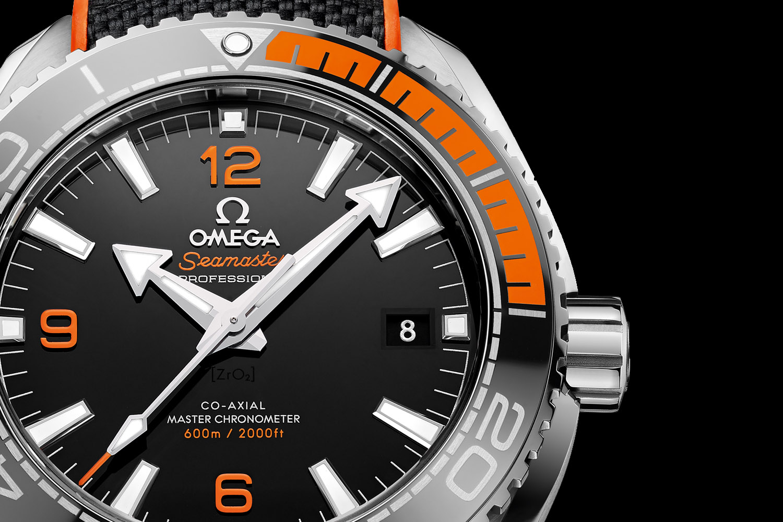 Omega Seamaster Planet Ocean 43.5mm Automatic - Black and Orange - Master Chronometer