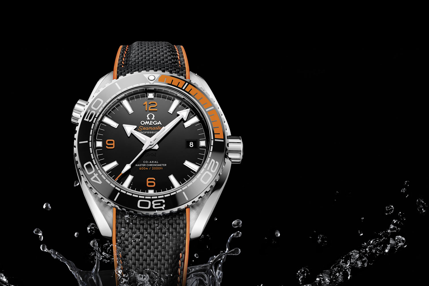 Omega Seamaster Planet Ocean 43.5mm Automatic - Black and Orange - Master Chronometer