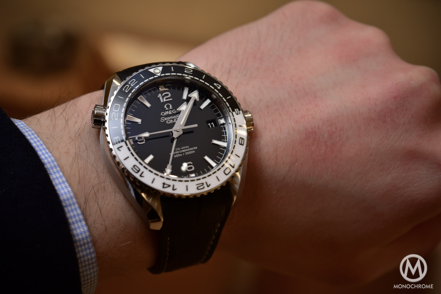 856124509ce3 Introducing the new Omega Seamaster Planet Ocean GMT with Master ...