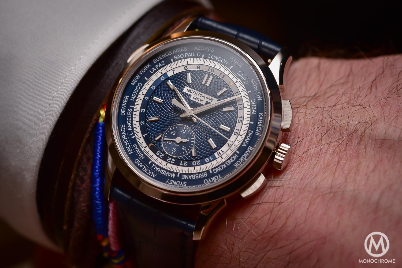 Patek Philippe 5930g World Timer Chronograph - Baselworld 2016 - 3