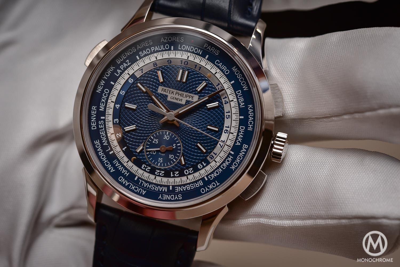 Patek Philippe 5930g World Timer Chronograph - Baselworld 2016 - 4