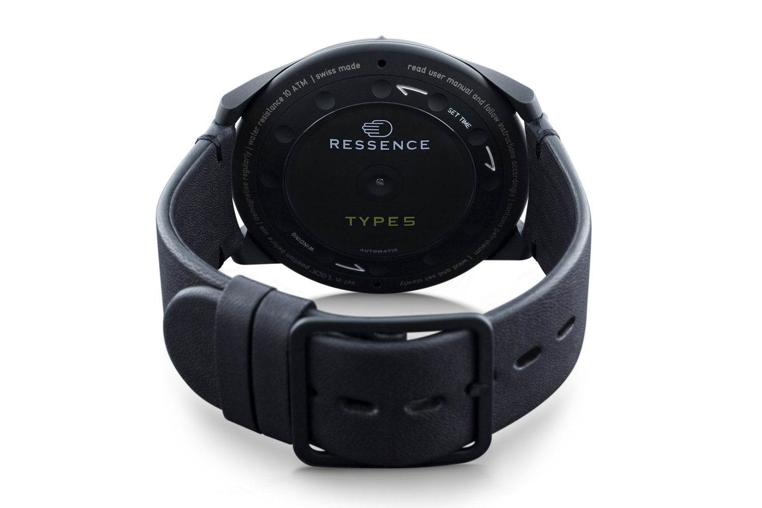 Ressence Type 5BB Full Black - 2