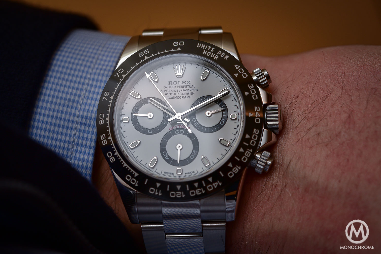 Rolex Daytona 116500LN in steel Cerachrom ceramic black bezel - 2