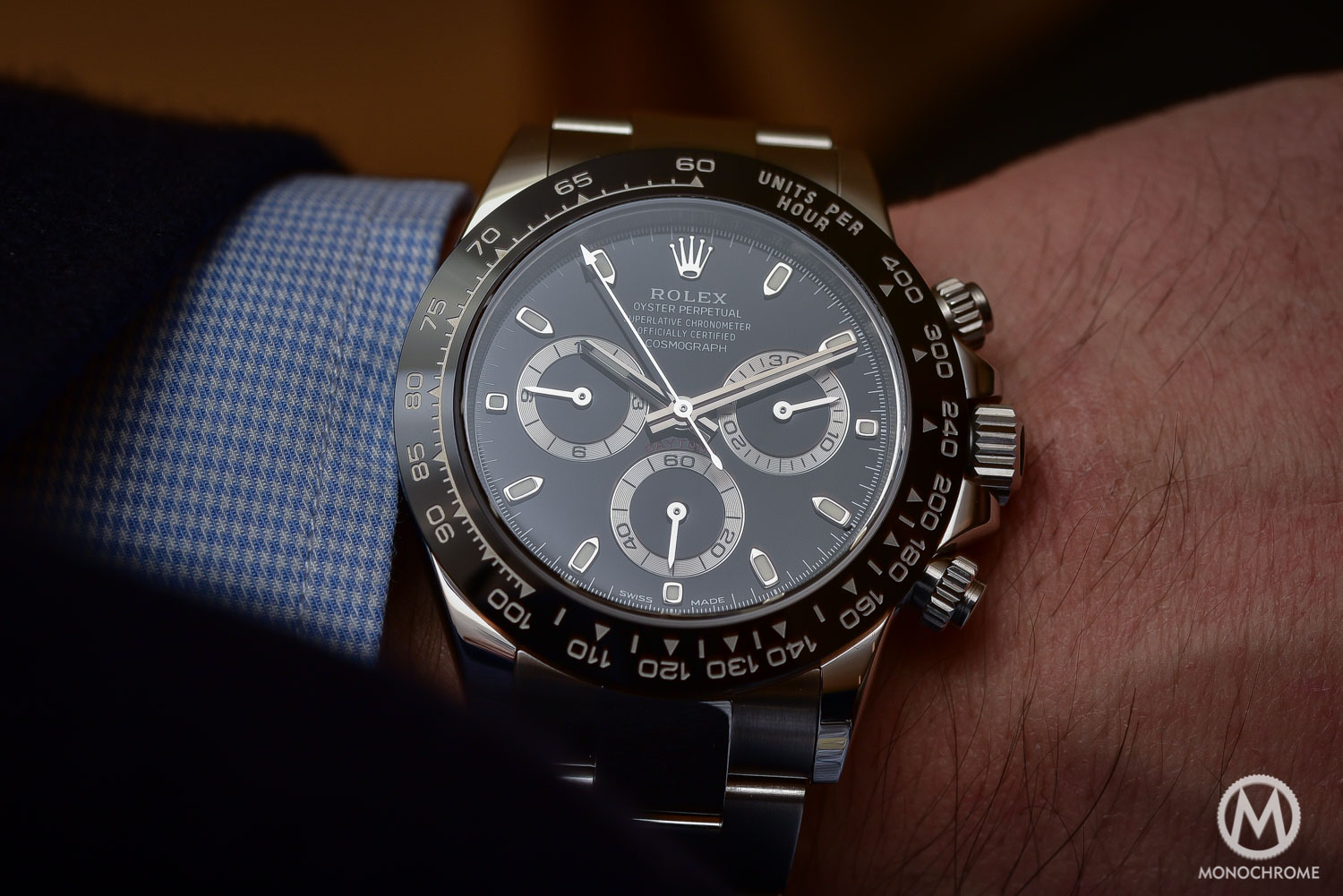 Rolex Daytona 116500LN in steel Cerachrom ceramic black bezel - 6