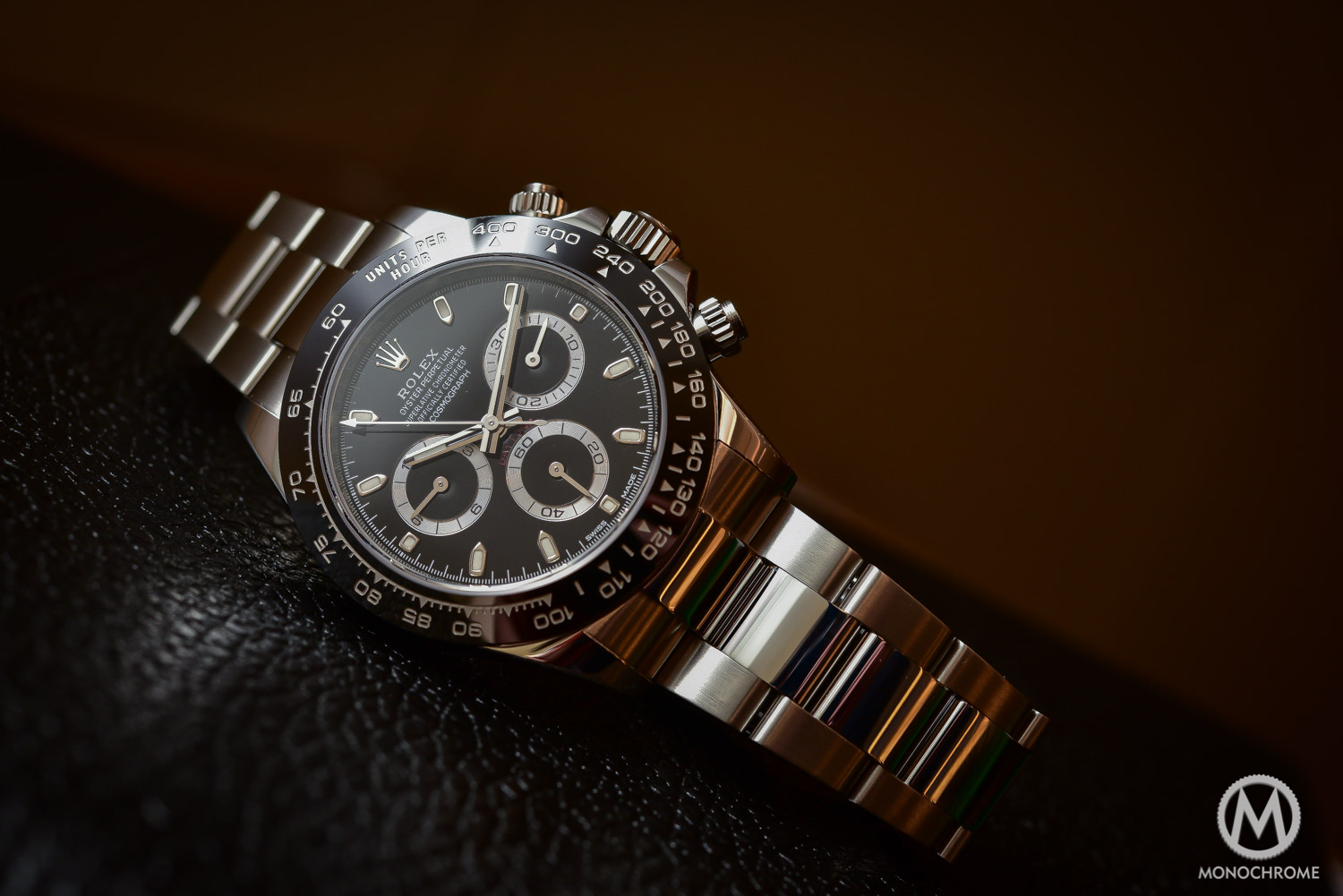 Rolex Daytona 116500LN in steel Cerachrom ceramic black bezel - 9