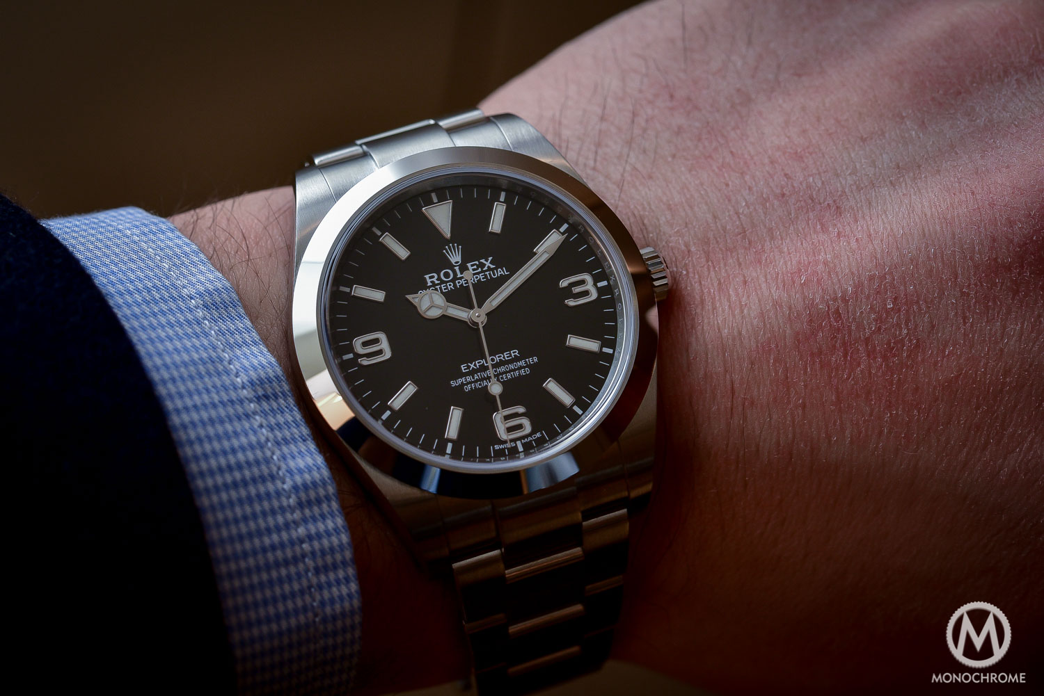 Rolex Explorer 214270 Baselworld 2016 - Long hands - 1