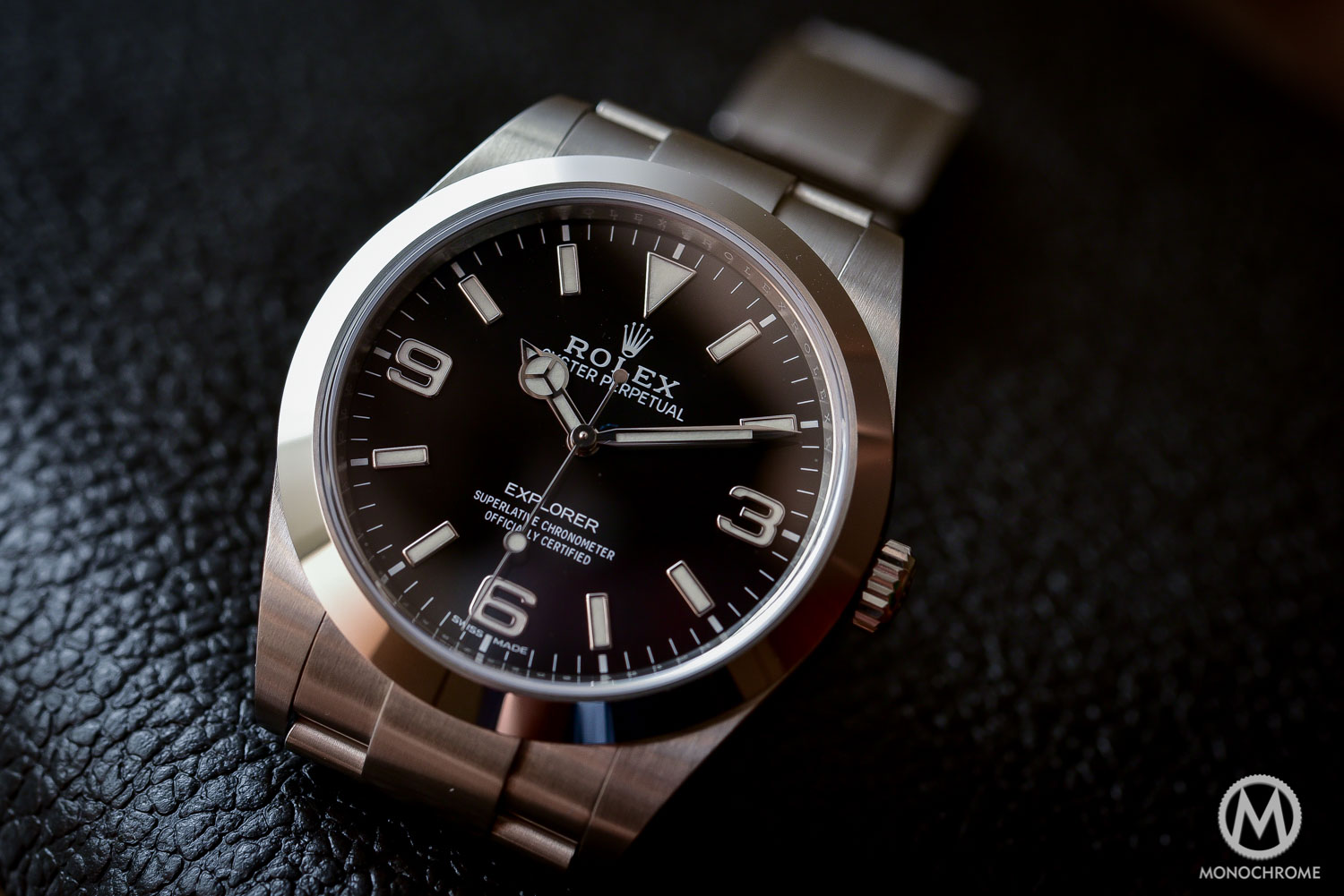 Rolex Explorer 214270 Baselworld 2016 - Long hands - 2