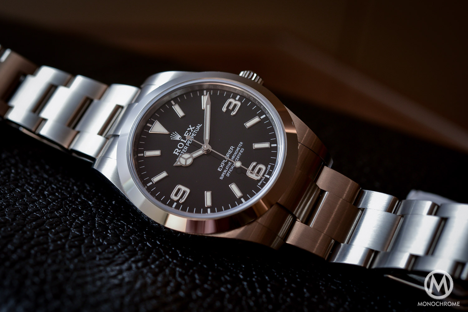 Rolex Explorer 214270 Baselworld 2016 - Long hands - 3